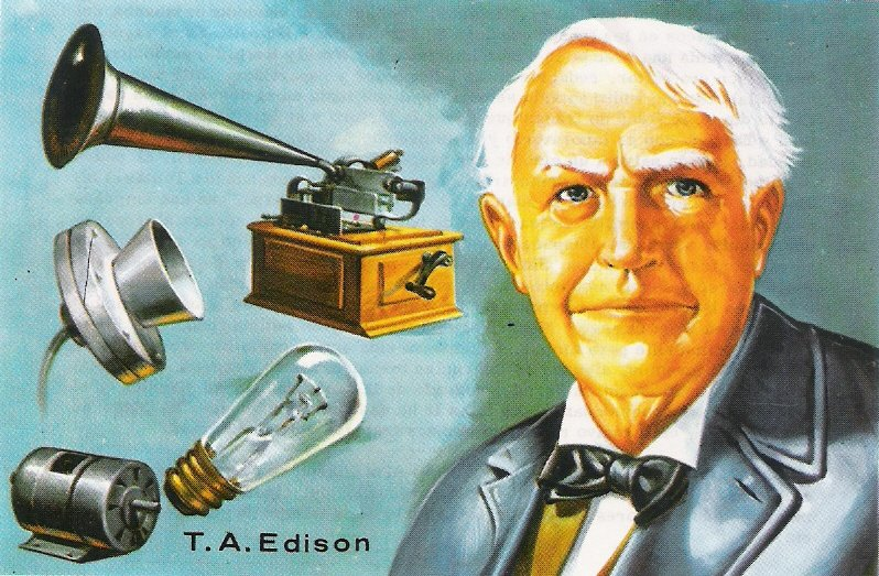 Image result for thomas edison