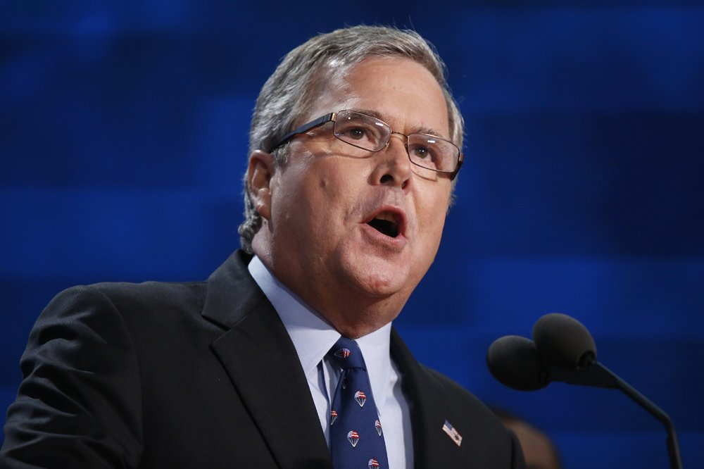 Jeb Bush gives speech at Republican National Convention