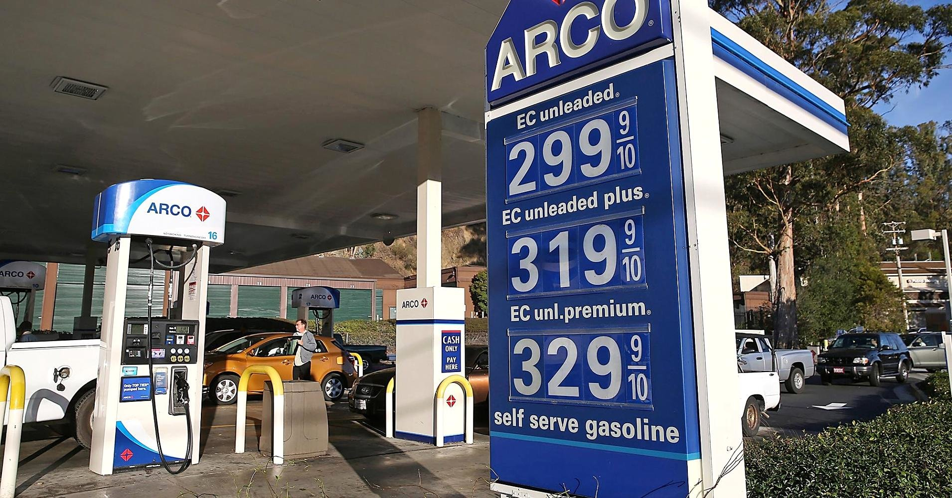 Gasoline at the gas station is massively underpowered 55