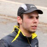 Snapshot of Andreas Lubitz in running gear