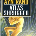 Book cover of Ayn Rand's Atlas Shrugged with golden statue