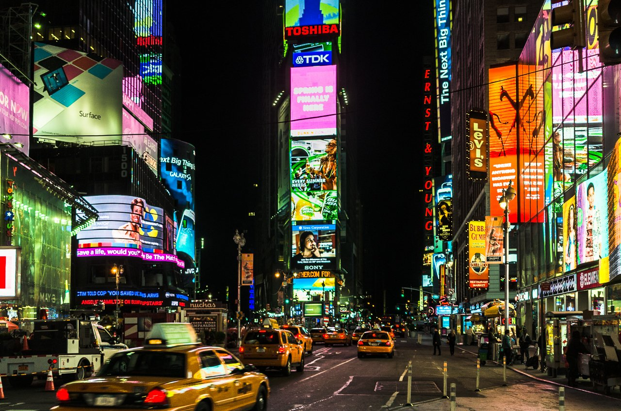 Why The Lights Of Times Square Are A Beautiful Thing