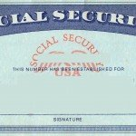 Image of a blank social security card