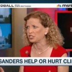 Hardball with Chris Matthews on MSNNC interview with Debbie Wasserman