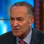 Chuck Schumer talking on television