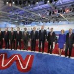 The Republican party lined up on CNN