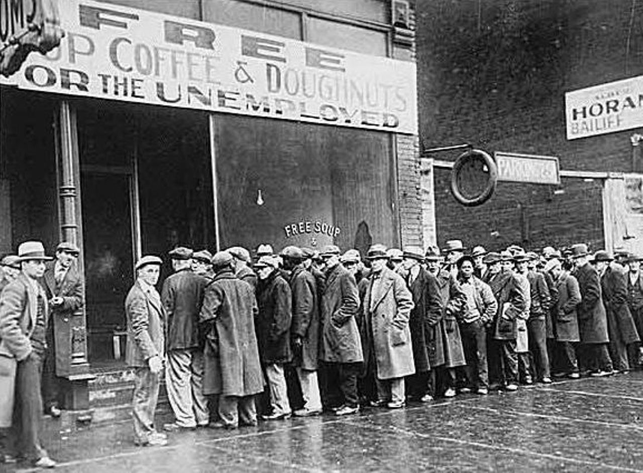 an analysis of the causes of the great depression in 1929 and the downfall of american economy Commentary and archival information about great depression this was caused by the collapse of food prices with during the great depression the economy has.