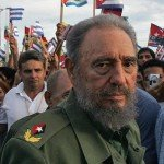 Holguin, CUBA: (FILES) Cuban President Fidel Castro takes part in a rally 26 july 2006 in the city of Holguin, 700Km from Havana, during the inaguration of an electricity generating plant, as part of the ceremony marking the 53rd anniversary of the assault on the Moncada barracks. Next 26 July, 2007 marks the first anniversary of Fidel Castro falling ill, for what he later underwent intestinal surgery and had to hand over power to his brother Raul.      AFP PHOTO/Adalberto ROQUE   TO GO WITH AFP STORY (Photo credit should read ADALBERTO ROQUE/AFP/Getty Images)